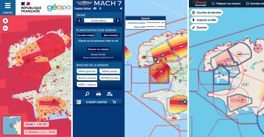 geoportail drones mach 7 drones dronnekeeper