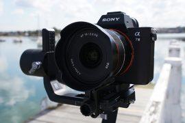 Samyang AF 18 mm f/2,8 FE : ouverture.