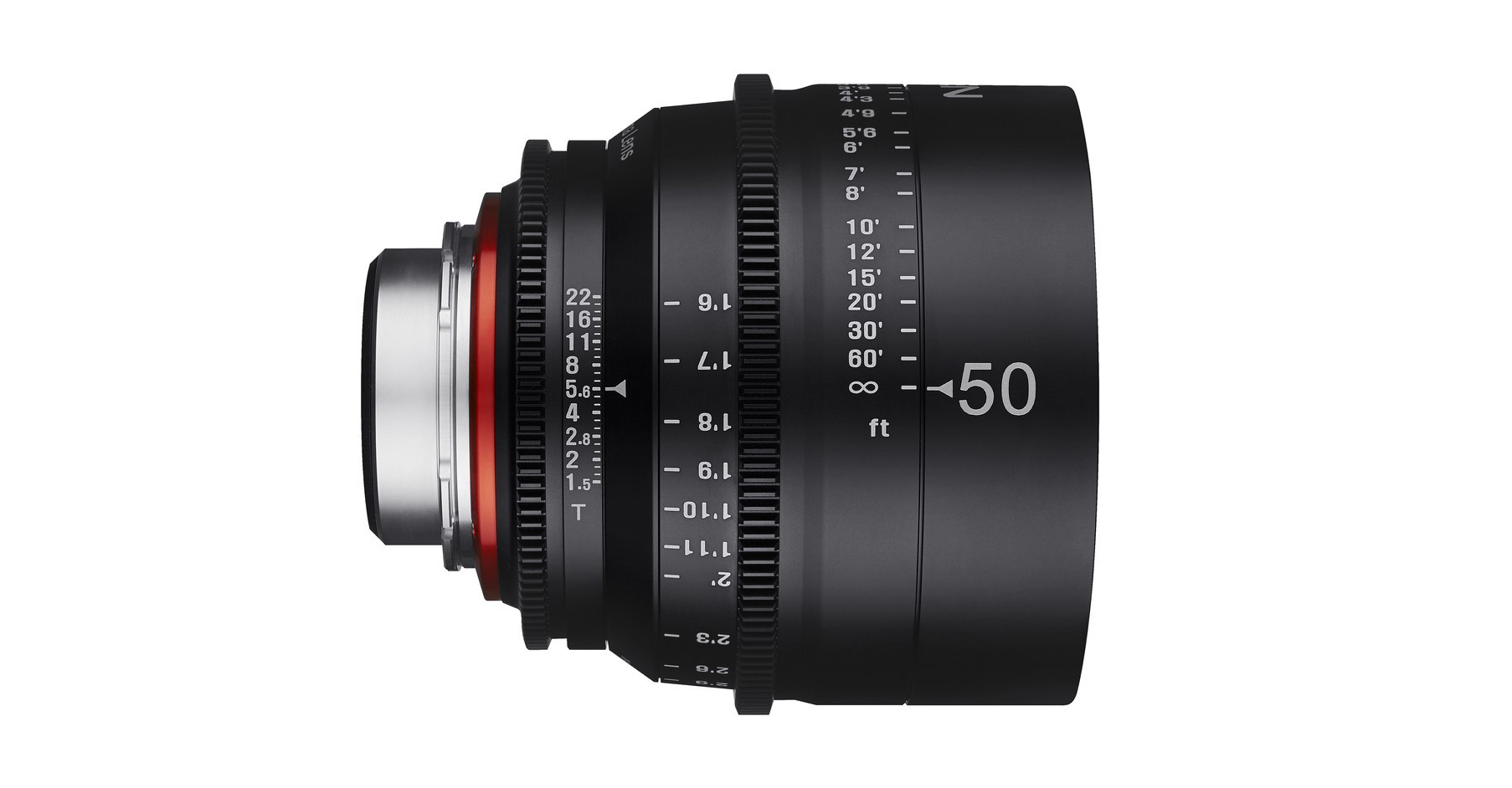 Optiques vidéo : Samyang Xeen 50 mm T1.5.