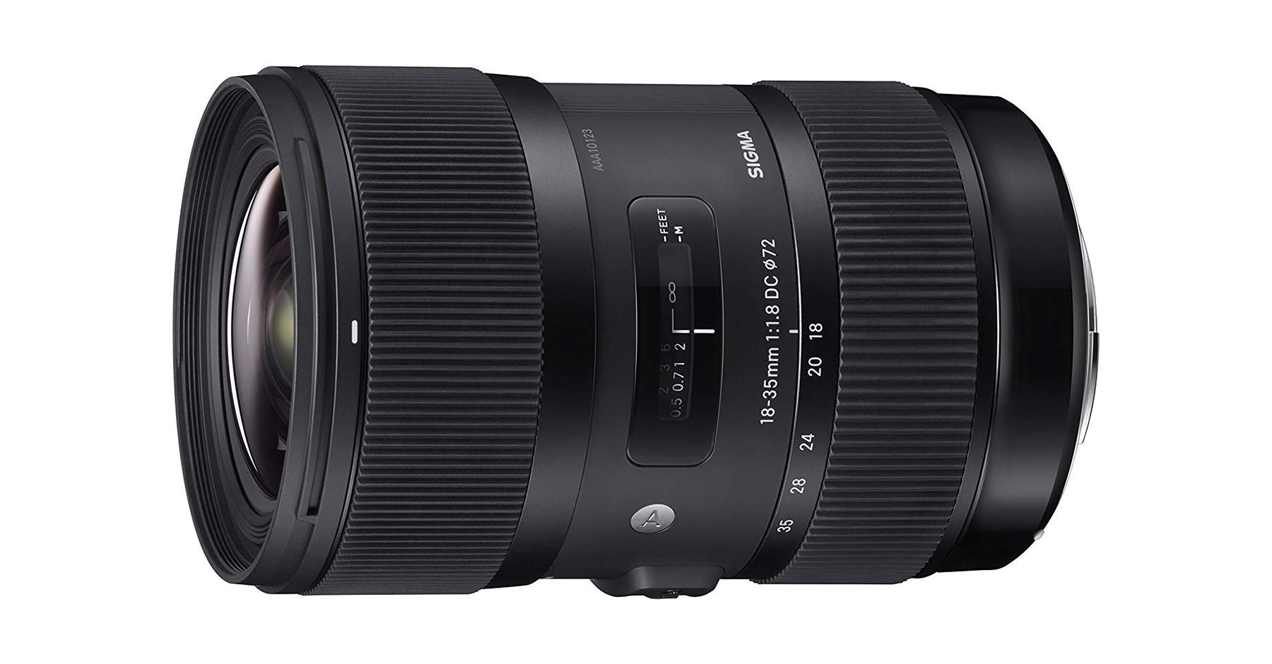 Optiques vidéo : Sigma Art 18-35 mm f/1.8 DC HSM.