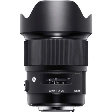 Objectif Sigma 20 mm f/1.4