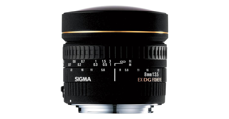 Sigma 8 mm f/3.5 EX DG