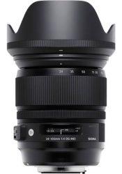Objectif photo Sigma 24-105 mm f/4 art dg (11 cm - 885g)