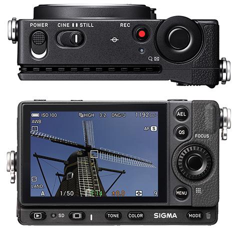 Sigma fp : vidéo.