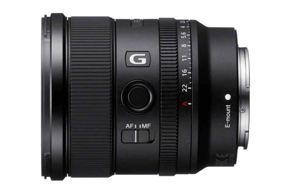 Sony FE 20 mm f/1,8 G