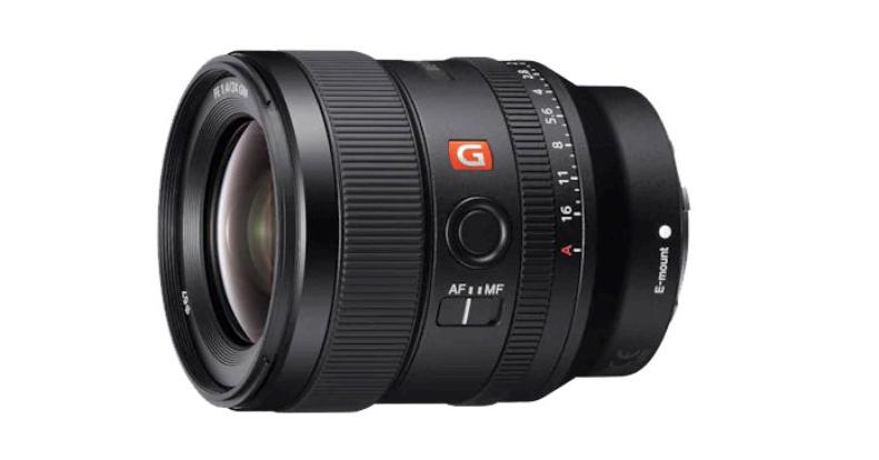 Sony FE 24 mm f/1,4 GM : produit.