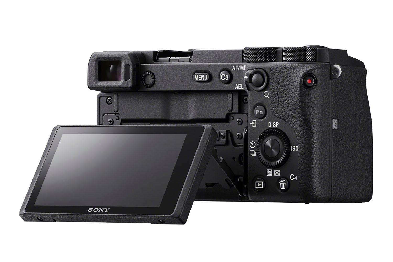 Sony A6600 : arrière.
