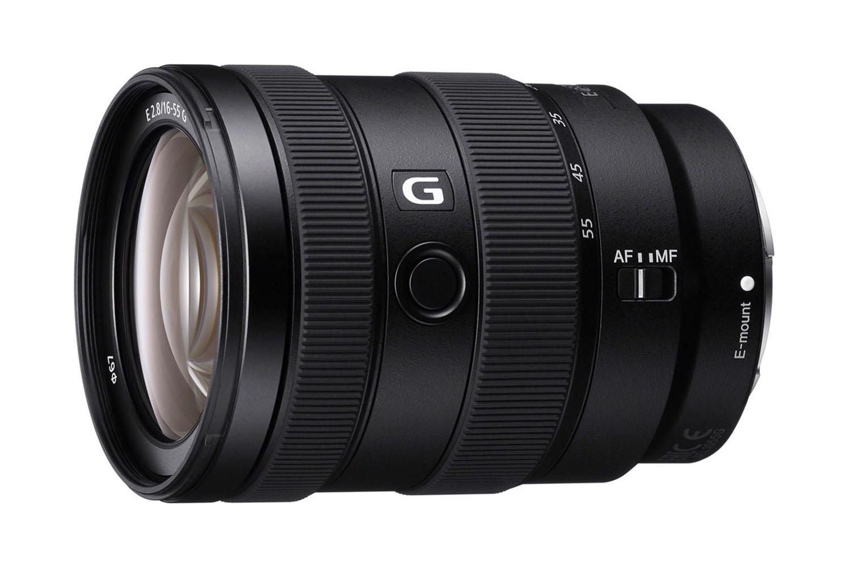 Sony E 16-55 mm f/2,8 G : face.