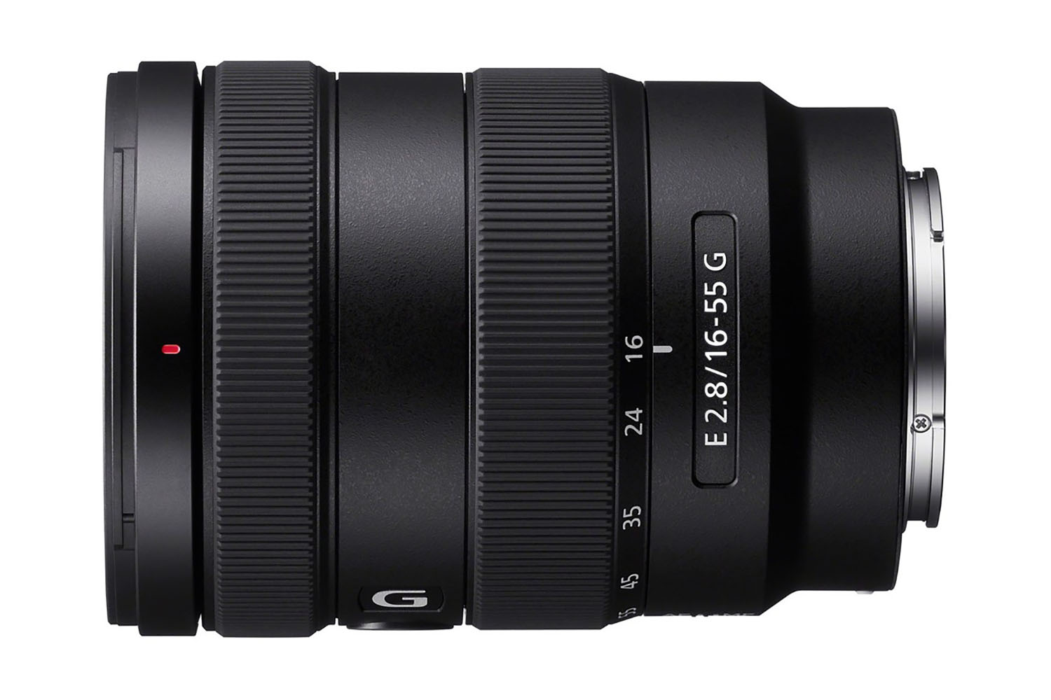 Sony E 16-55 mm f/2,8 G : profil.
