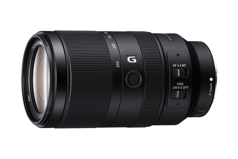 Sony E 70-350 mm f/4,5-5,6 G OSS : face.