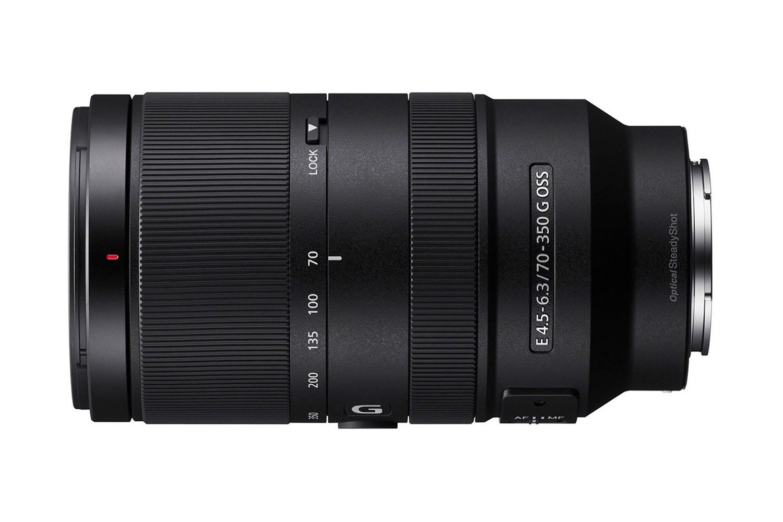 Sony E 70-350 mm f/4,5-5,6 G OSS : profil.