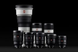 Optiques Sony FE G Master.