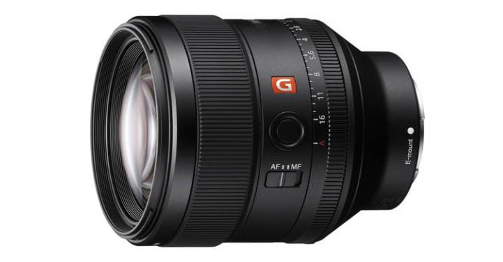 Sony FE 85 mm f/1,4 GM : produit.