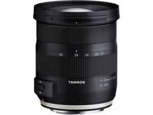 Objectif photo Tamron 17-35 mm f/2,8-4 di (8,4 cm - 460g)