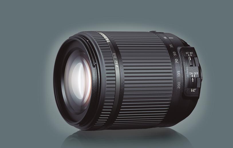 Tamron 18-200 mm f/3.5-6.3 Di II VC : produit.