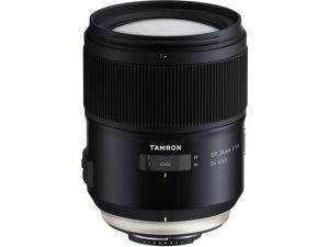 Objectif photo Tamron sp 35 mm f/1,4 di usd (10,5 cm - 815g)