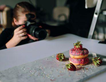 la photographie culinaire en studio