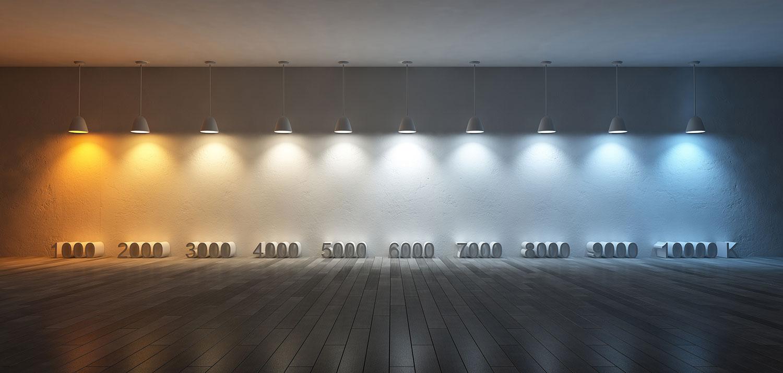 Températures de couleurs.