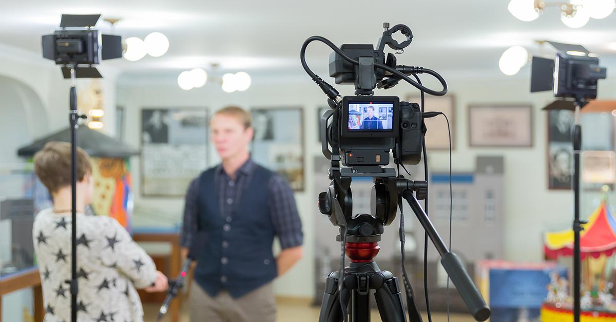 Vidéos cinématiques : tournage.