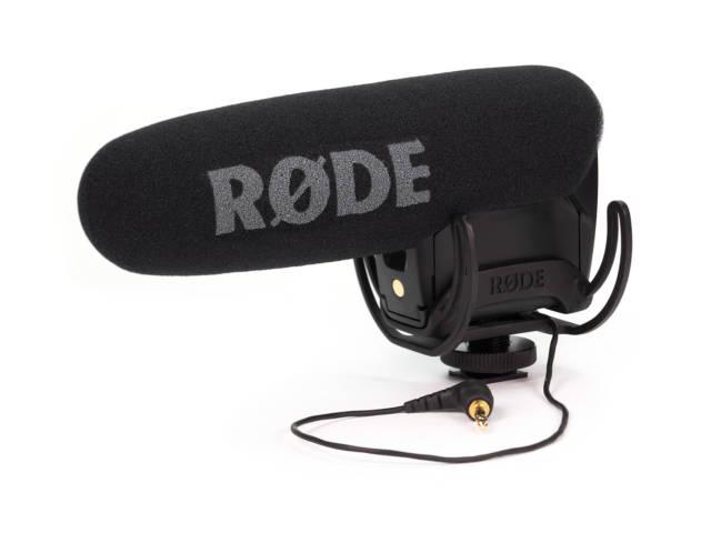 Microphone cardioide directionnel Videomic Pro