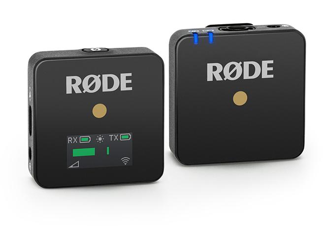 Prise de son sans fil Rode Wireless Go