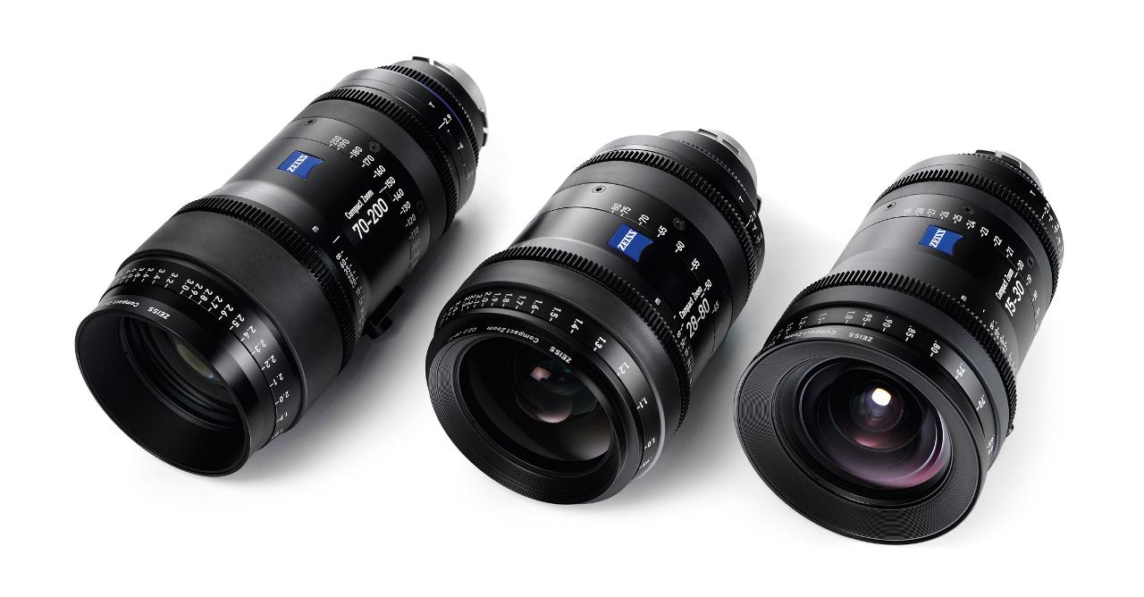 Optiques vidéo : zooms ciné Zeiss.