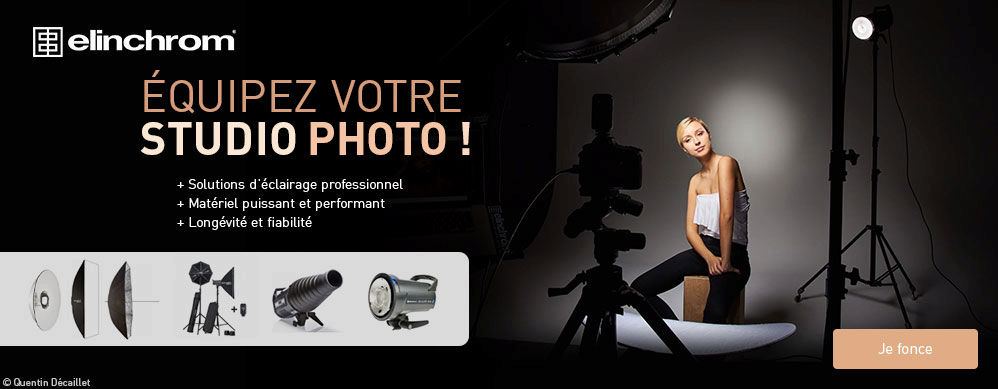Équipement studio photo Elinchrom