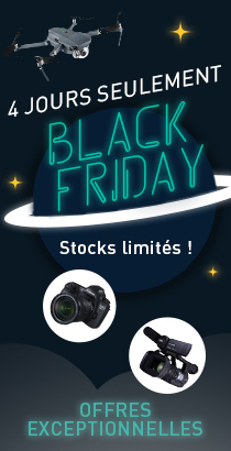 Black Friday : promos exceptionnelles photo, vidéo, drone