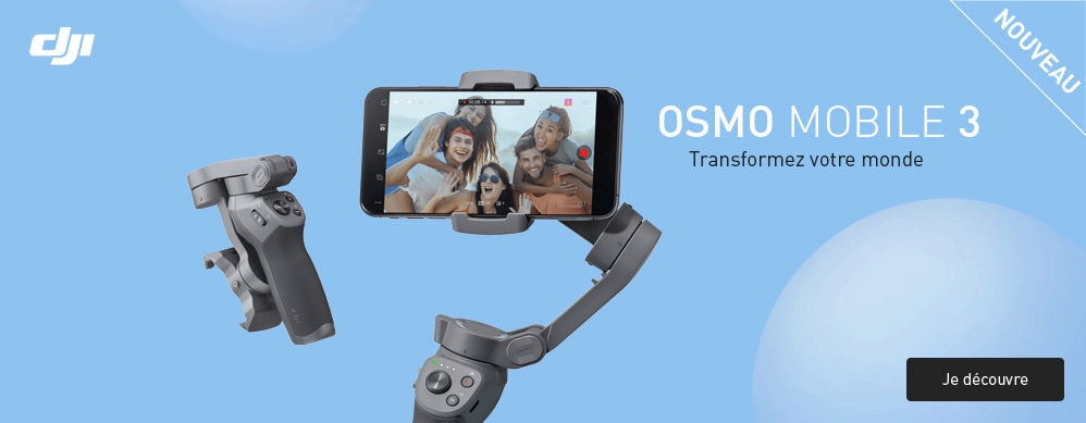 Commandez l\'osmo mobile 3