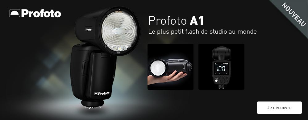 Nouveau Flash de studio Profoto  A1