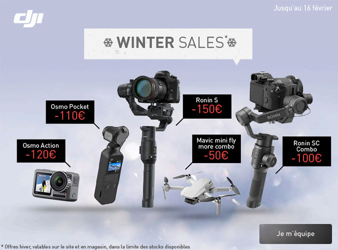 Winter sales chez Dji