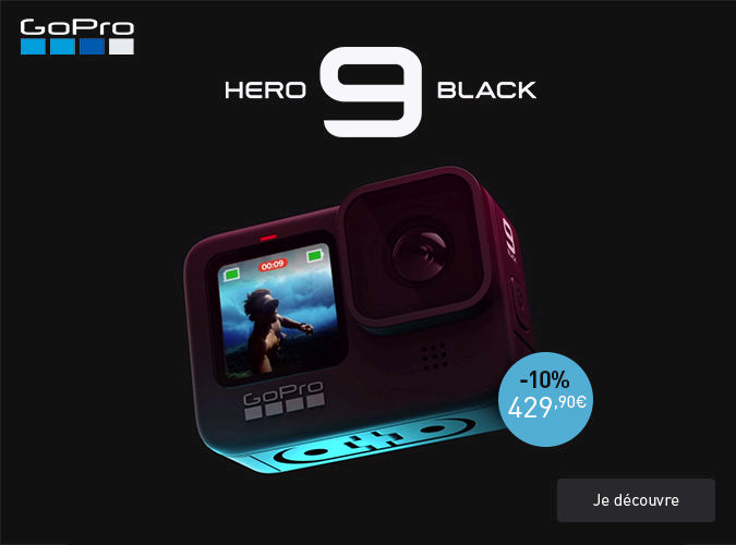 Gopro Hero 9 en promotion