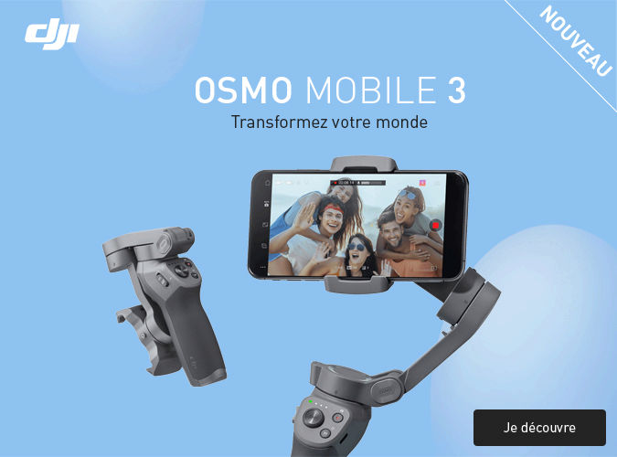 Dji Osmo mobile 3 en stock