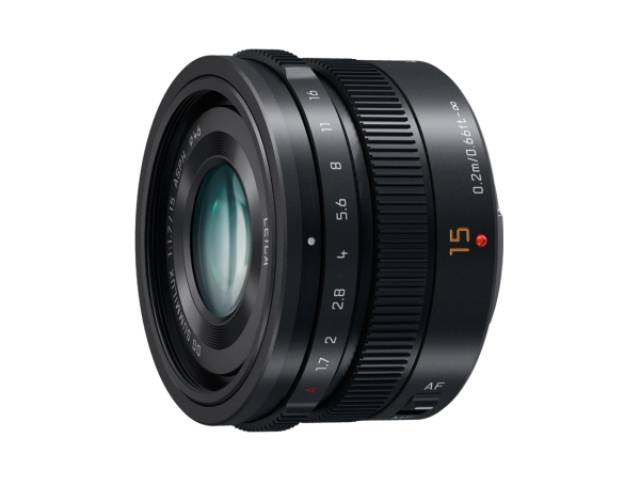 objectif panasonic leica dg summilux 15 mm f 1 7 asph noir. Black Bedroom Furniture Sets. Home Design Ideas