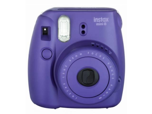 appareil photo instantan fujifilm instax mini 8 violet. Black Bedroom Furniture Sets. Home Design Ideas