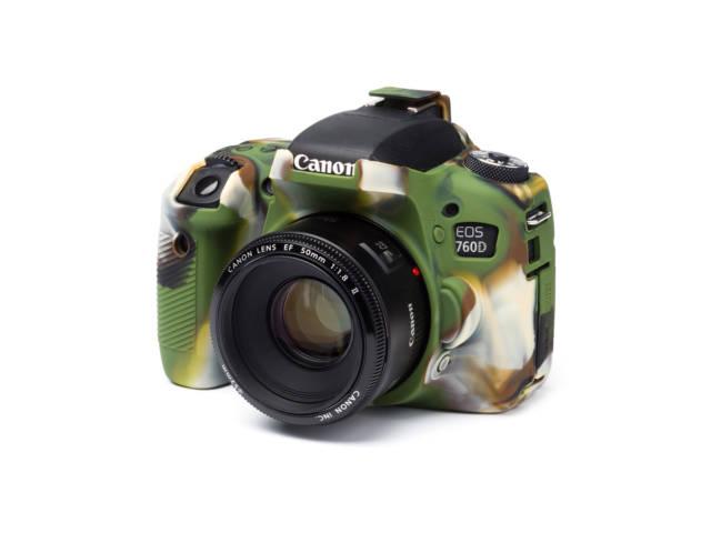 Housse de protection camouflage easy cover pour canon 760d for Housse canon 700d