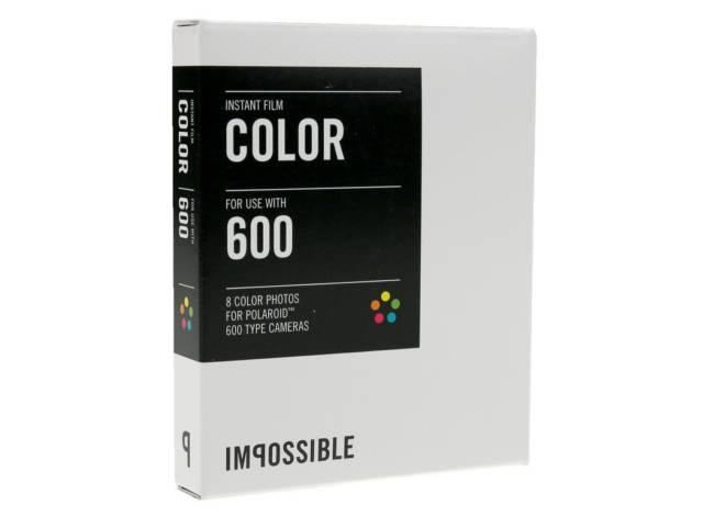 pack recharge impossible color 600 cadre blanc pour polaro d 600 et instant lab au meilleur prix. Black Bedroom Furniture Sets. Home Design Ideas