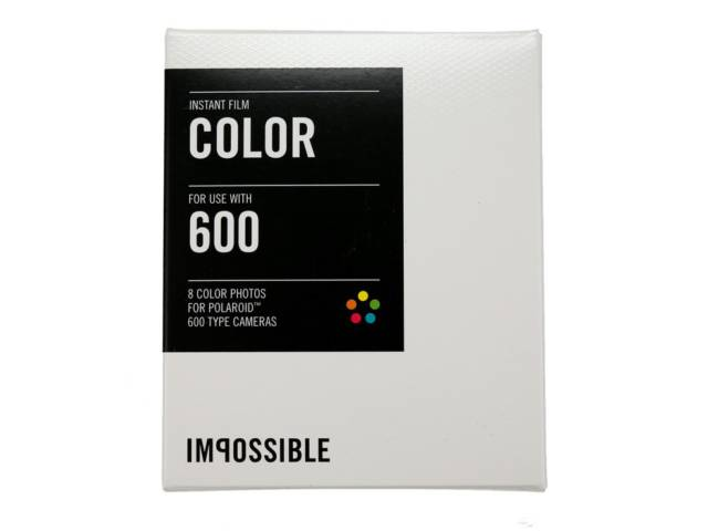 pack recharge impossible color 600 cadre blanc pour polaro d 600 et instant lab. Black Bedroom Furniture Sets. Home Design Ideas