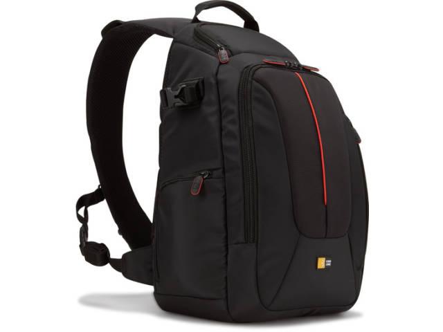 sac dos photo sling case logic dcb 308 noir. Black Bedroom Furniture Sets. Home Design Ideas