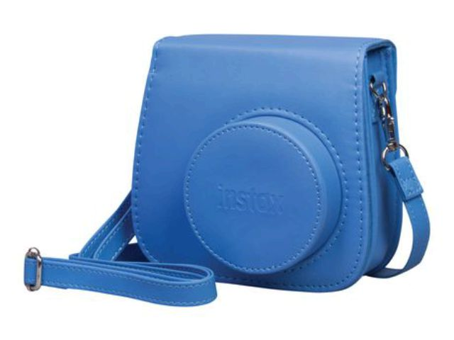 fujifilm instax mini 8 9 housse standard bleu cobalt. Black Bedroom Furniture Sets. Home Design Ideas