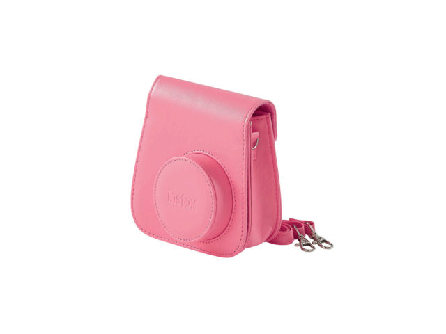 Fujifilm instax mini 8 9 housse standard rose corail for Housse instax mini 8