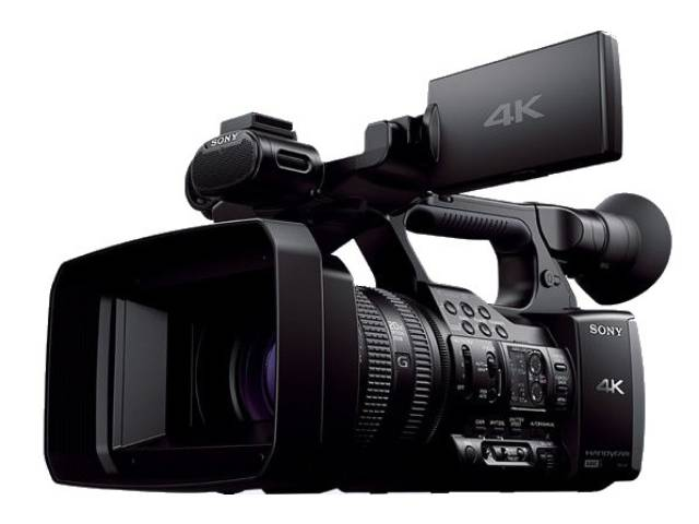 sony cam ra professionnelle 4k fdr ax1. Black Bedroom Furniture Sets. Home Design Ideas