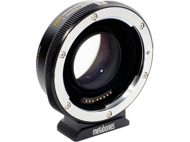 METABONES bague d'adaptation monture Canon EF pour monture Sony E T Speed Booster ULTRA 0.71x face 1