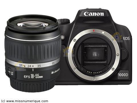 on feet images of online shop release date Reflex numérique CANON EOS 1000D + objectif photo EF-S 18-55 mm II