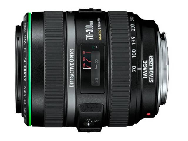 objectif canon ef 70 300 mm f 4 5 5 6 do is usm