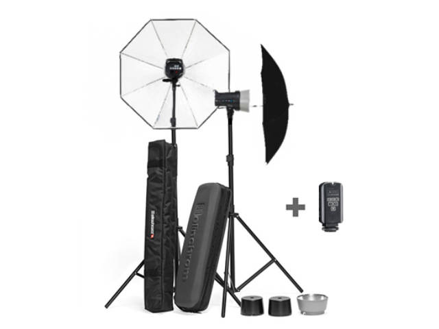 kit flash de studio elinchrom d lite rx 4 parapluie to go. Black Bedroom Furniture Sets. Home Design Ideas