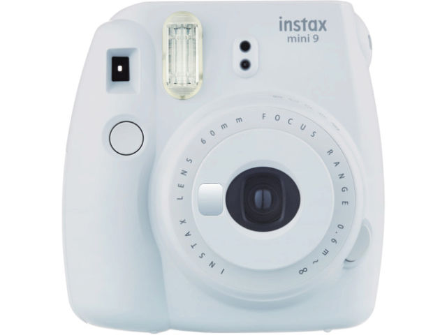 fujifilm instax mini 9 appareil photo instantan blanc cendr. Black Bedroom Furniture Sets. Home Design Ideas