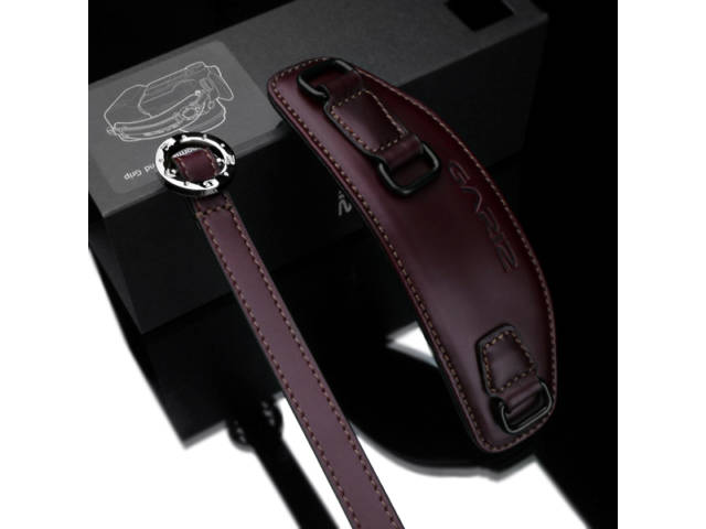 poign e hand strap en cuir gariz xs hg2 marron. Black Bedroom Furniture Sets. Home Design Ideas