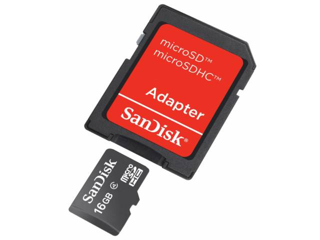 carte m moire micro sdhc sandisk 3mb s 16 go adaptateur. Black Bedroom Furniture Sets. Home Design Ideas