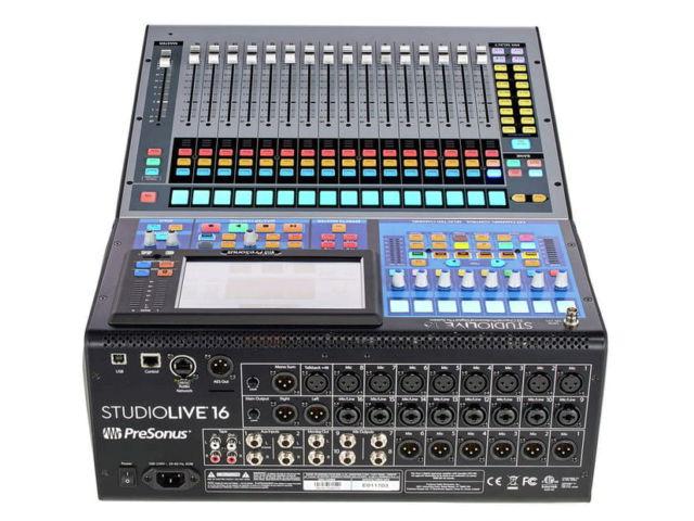 Presonus studio live 16 console de mixage num rique - Console de mixage numerique ...